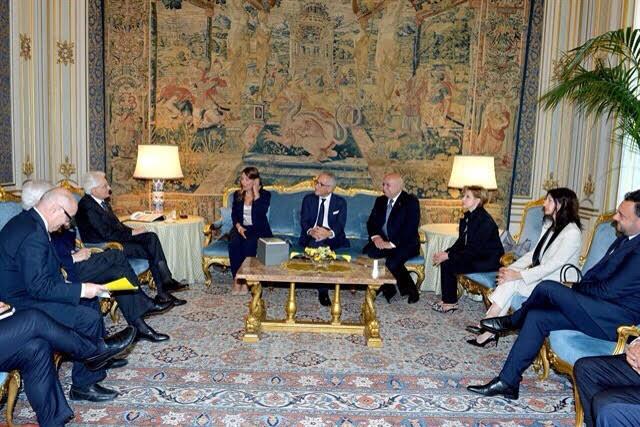 Incontro Presidente della Repubblica Mattarella